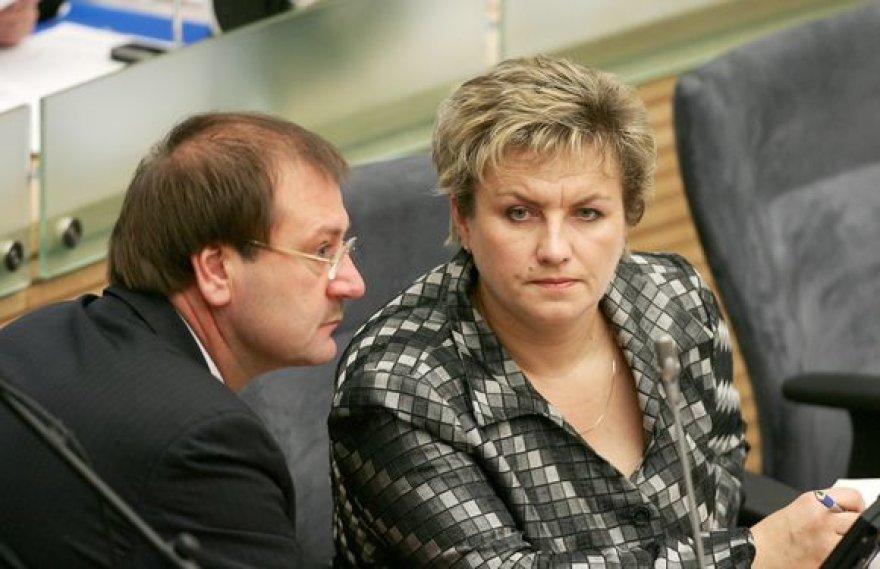 Seimo narė Dangutė Mikutienė