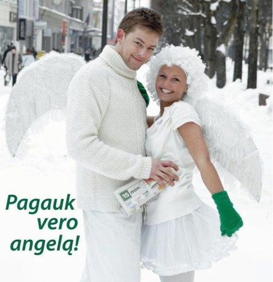 """Pamatęs mieste """"Vero"""" angelą – nesnausk!"""
