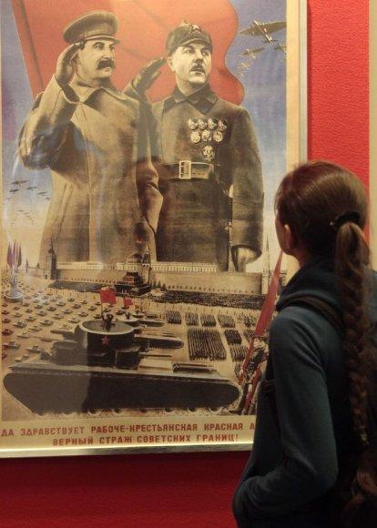 Maskvos gatvėse Pergalės dieną nebus jokių plakatų su Stalinu.