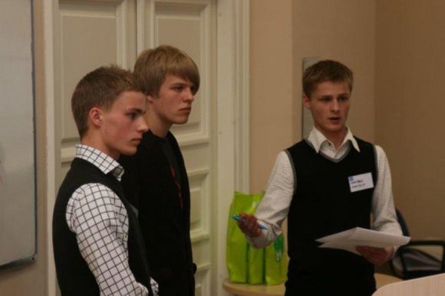 ISM verslumo konkursas