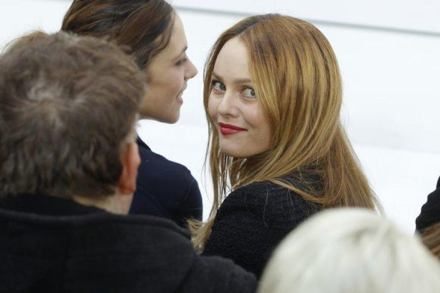 Dainininkė ir aktorė Vanessa Paradis