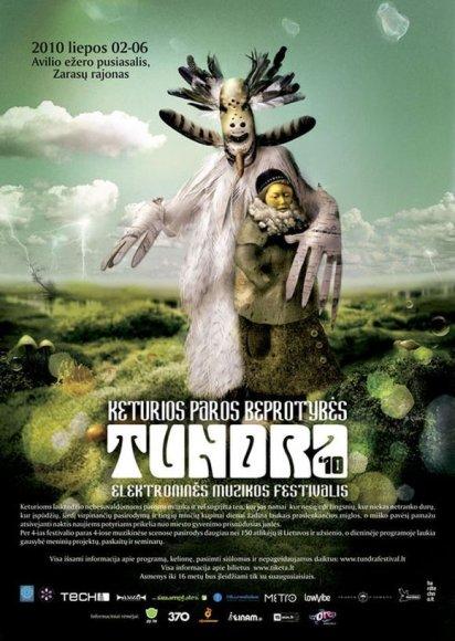 """Elektroninės muzikos festivalis """"Tundra"""" – jau šį penktadienį!"""