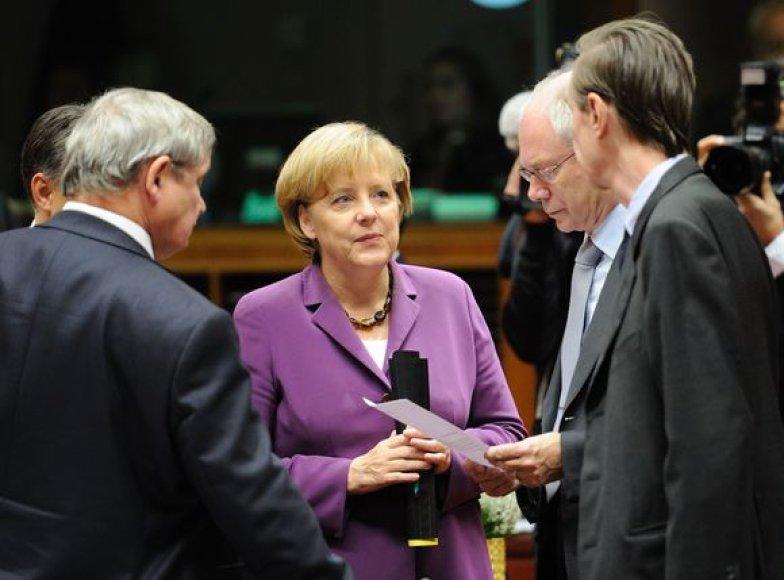 """Europos Sąjungos lyderiai pasiekė bendrą sutarimą, kad Bendrijos sutartis turi būti """"ribotai"""" pakeista."""