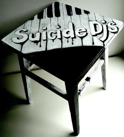 """""""Suicide DJs"""" kėdė"""