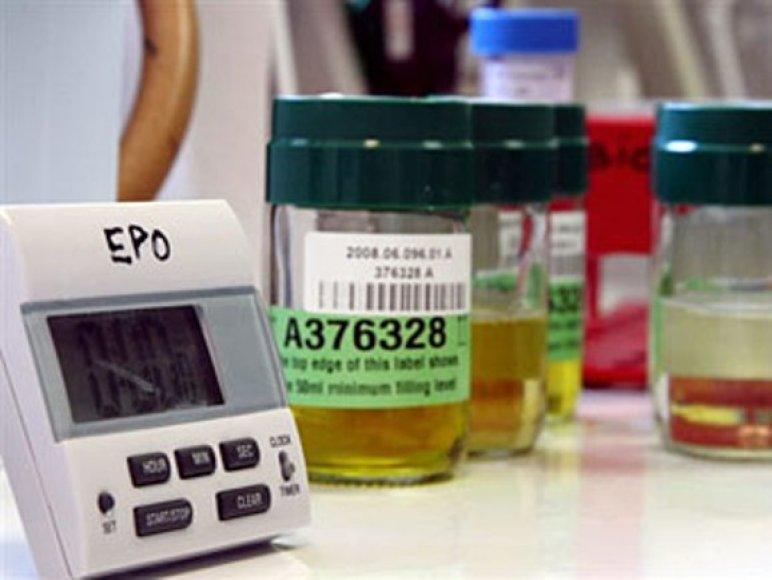 Rusijos biatlonininkų organizmuose aptikta EPO