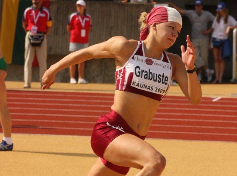 Pasaulio čempionate startuos latvė daugiakovininkė Aiga Grabustė