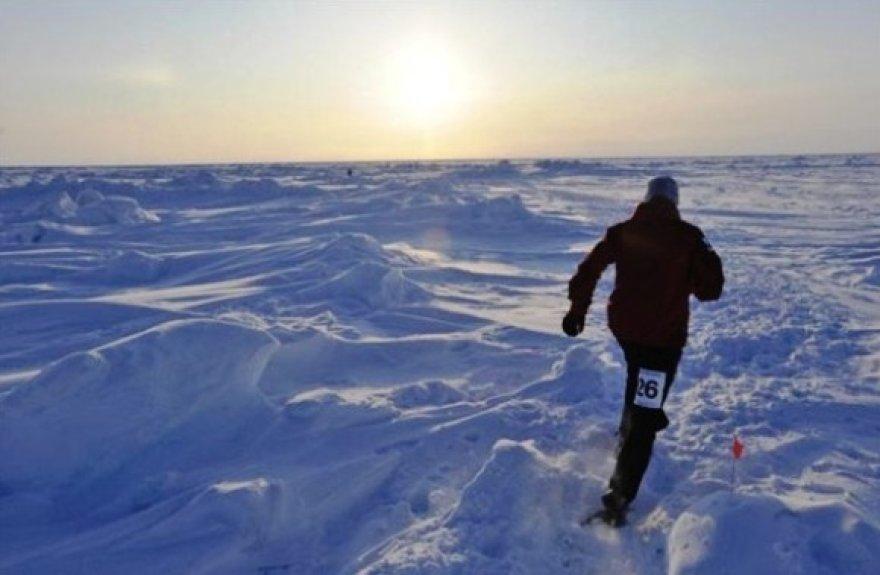 Maratonas bėgamas ir Šiaurės ašigalyje