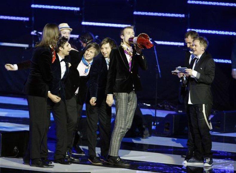 """Estijos atstovė """"Eurovizijoje"""" grupė """"Malcolm Lincoln"""""""