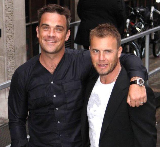Robbie Williamsas ir Gary Barlowas