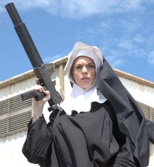 "Lindsay Lohan filme ""Mačetė"""