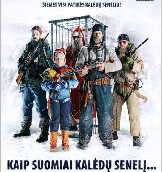 """Filmas """"Kaip suomiai Kalėdų senelį..."""""""
