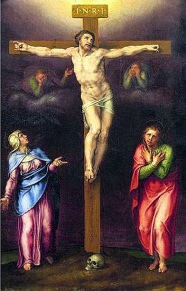 Įtariamas Michelangelo paveikslas, kabėjęs Oxfordo studentų bendrabutyje