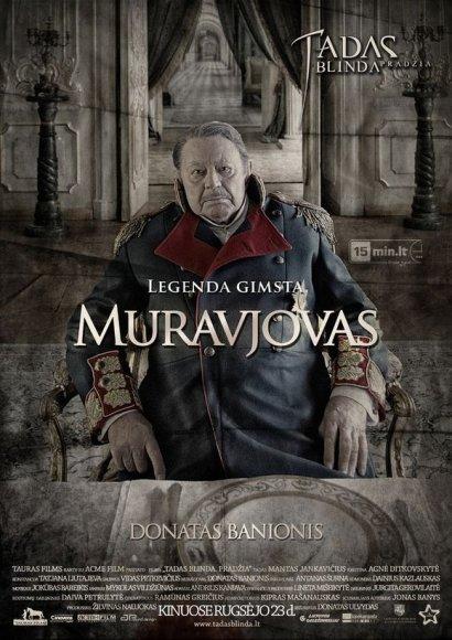 """Donatas Banionis filme """"Tadas Blinda. Pradžia"""" sukūrė Michailo Muravjovo personažą"""