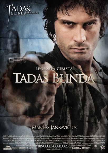 """Mantas Jankavičius filme """"Tadas Blinda. Pradžia"""" atliko pagrindinį vaidmenį"""