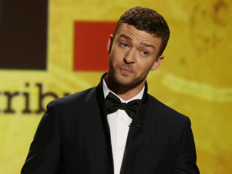 Dainininkas Justinas Timberlake'as