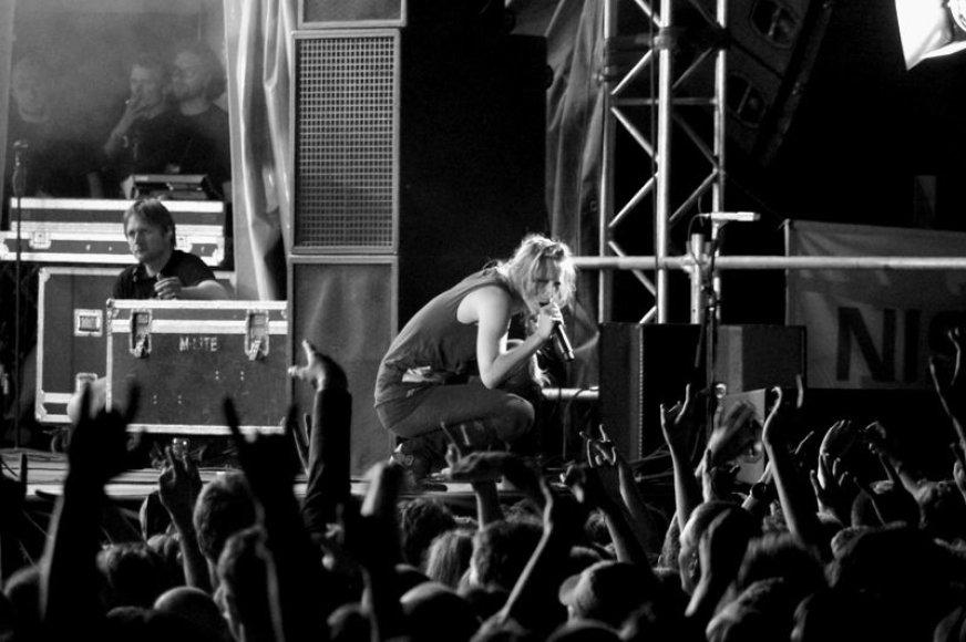 """Grupės """"Guano Apes"""" koncertas festivalyje """"Galapagai/Roko naktys"""""""