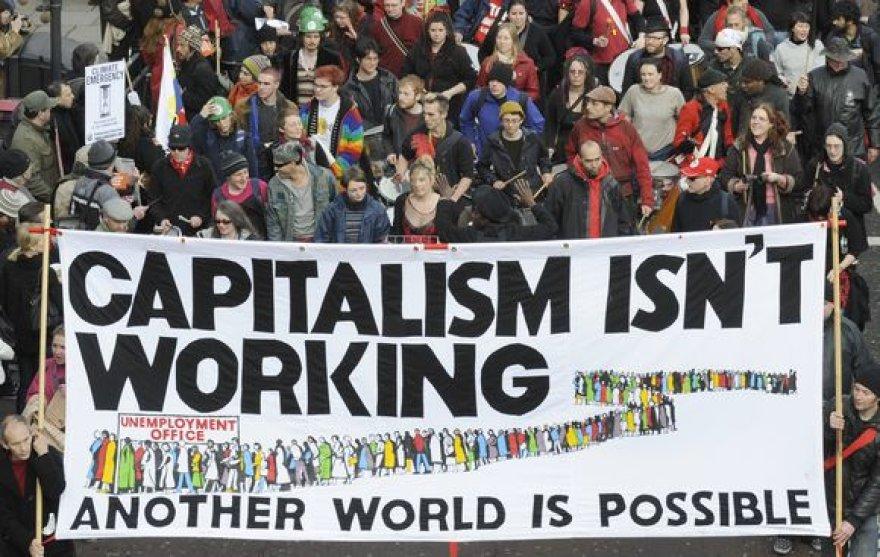 Protestas Londone