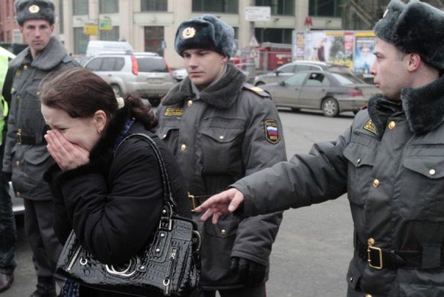 Prie metro sustiprintos milicininkų pajėgos