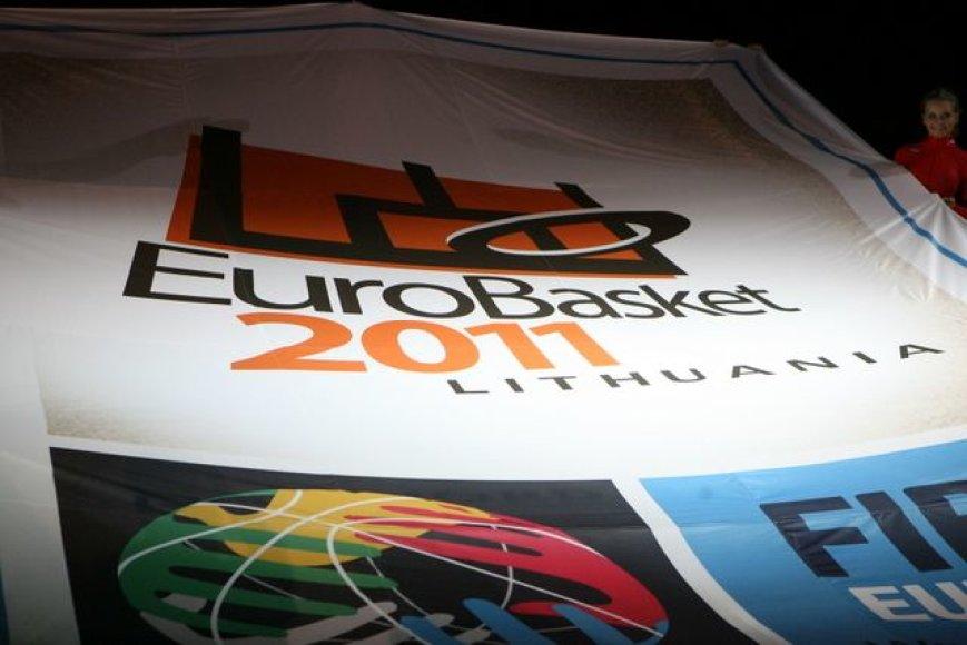 2011 metų Europos vyrų krepšinio čempionato logotipas