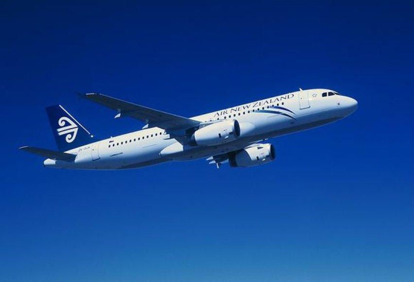 "Keleivinis ""Airbus A320"" orlaivis"