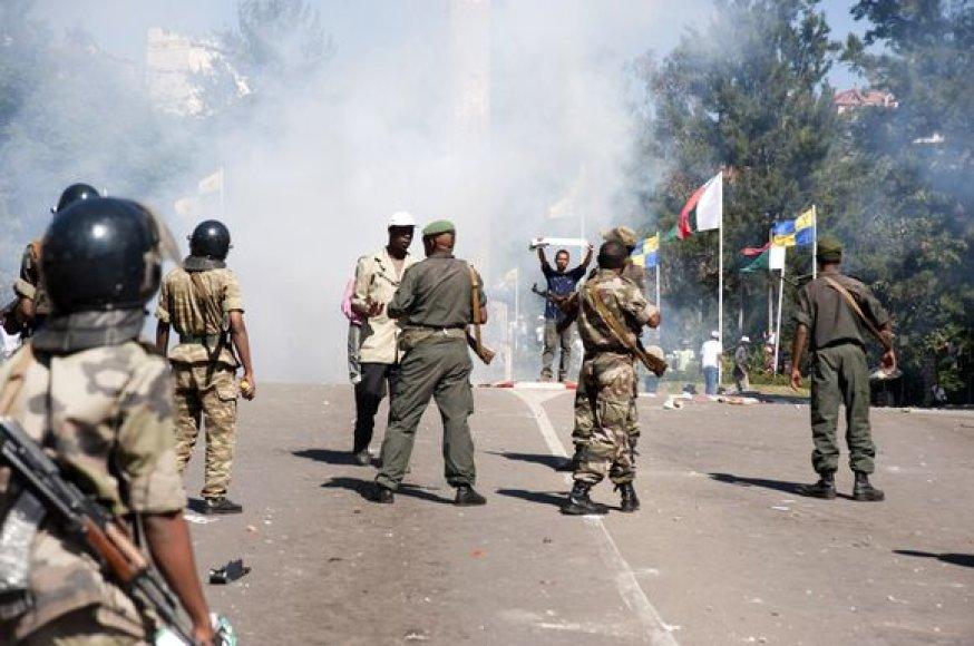 Protestas Madagaskare.