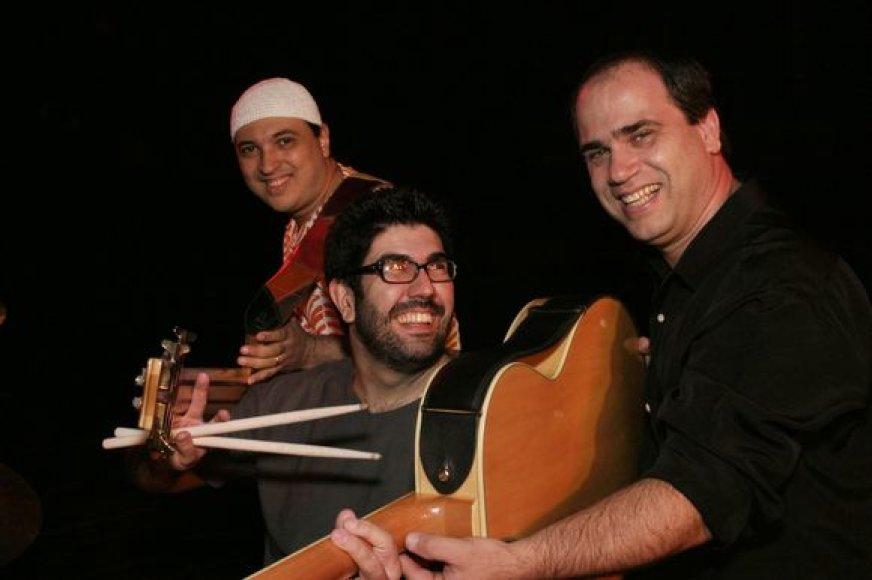 """""""Nosso Trio"""" iš Brazilijos"""