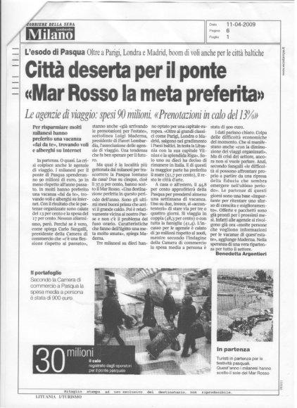 Italijos dienraštis: italai Velykų atostogoms rinkosi Lietuvą.