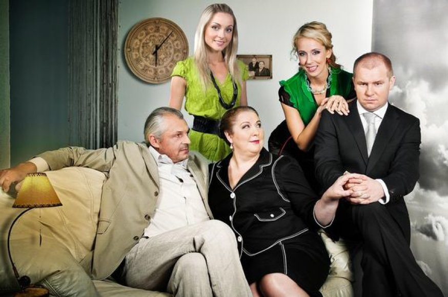 """TV3 seriale """"Emilija"""" – puikiai pažįstamų aktorių būrys"""