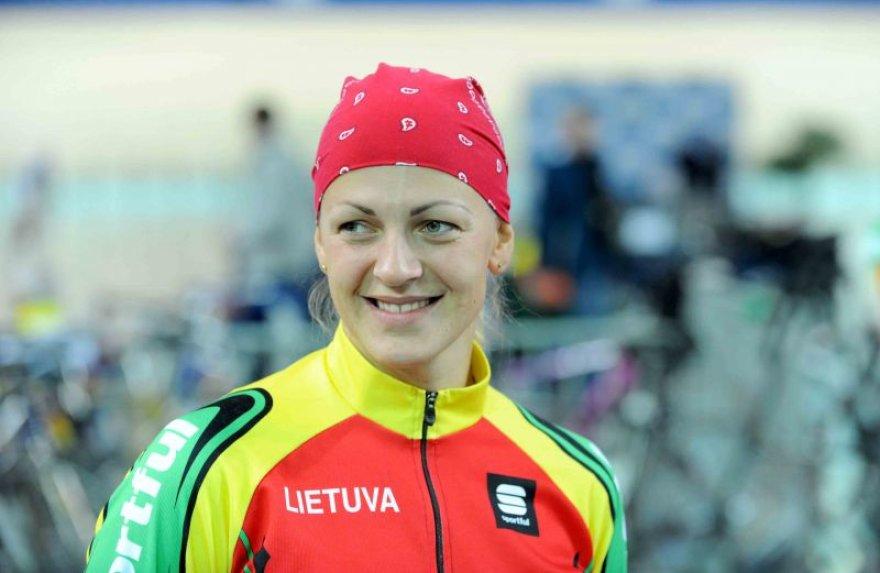 Simona Krupeckaitė sekmadienį liko be medalio