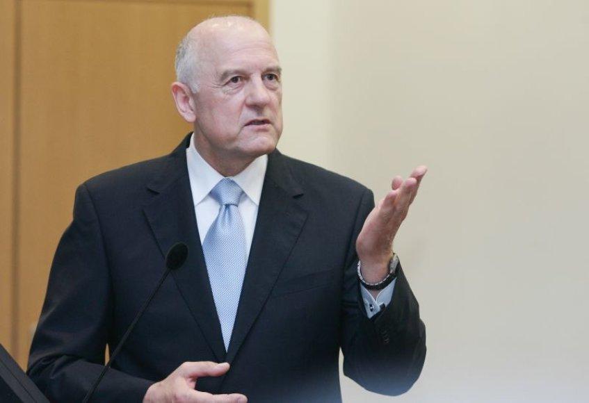 Mykolo Romerio universiteto (MRU) rektorius Alvydas Pumputis.