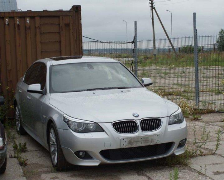 Tauragėje muitinės pareigūnai sulaikė vogtą BMW.