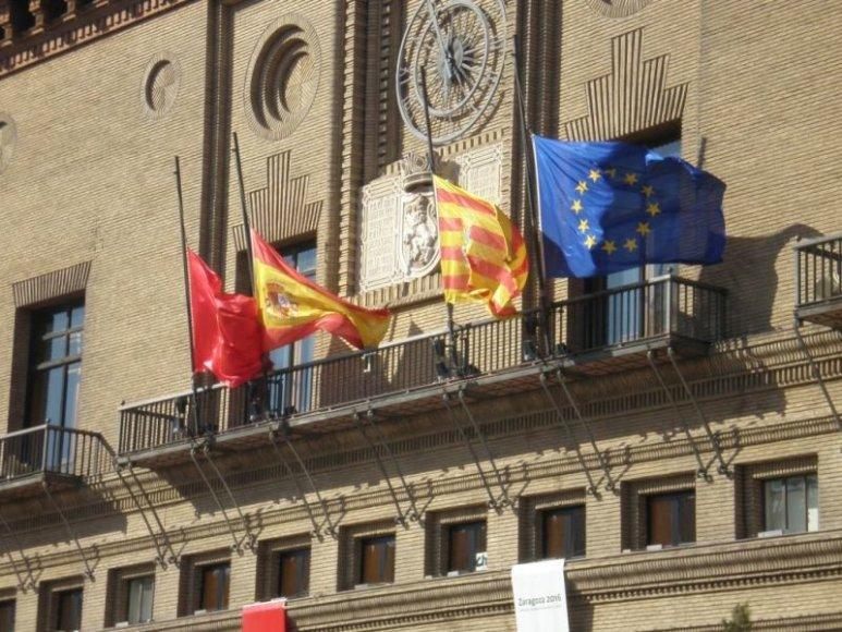 Pirmieji vaizdai, kuriuos Sandra užfiksavo atvykusi į Ispaniją.