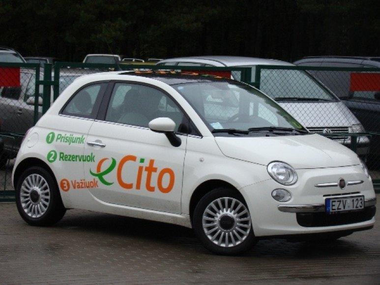 """""""eCito"""" dalinimosi automobiliu paslauga pradedama teikti ir studentams."""