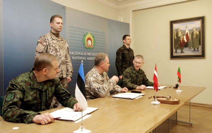Baigėsi Baltijos šalių karinio komiteto susitikimas.
