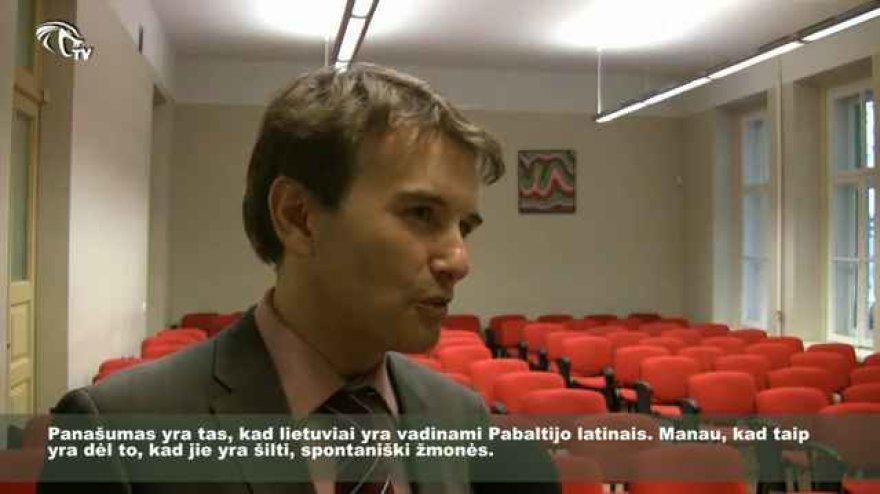 Ispanijos Kalarystės ambasados Lietuvoje kultūros atašė Manuelis Hernandesas Gamallo