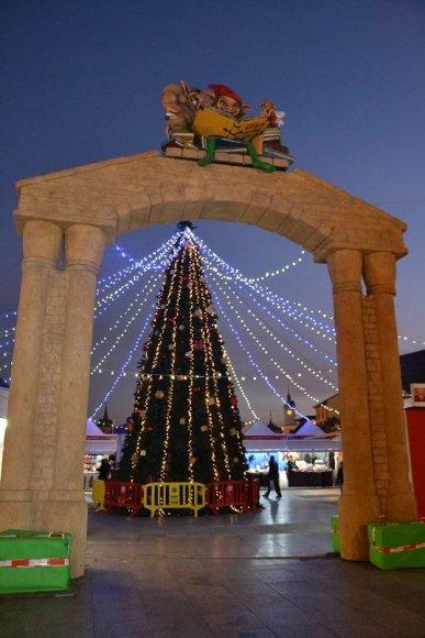Kalėdų belaukiantis Alcala de Henares miestas