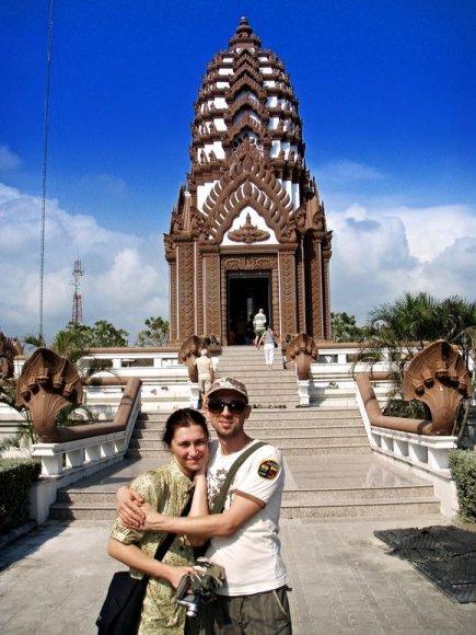 Linas Adomaitis su drauge Irma