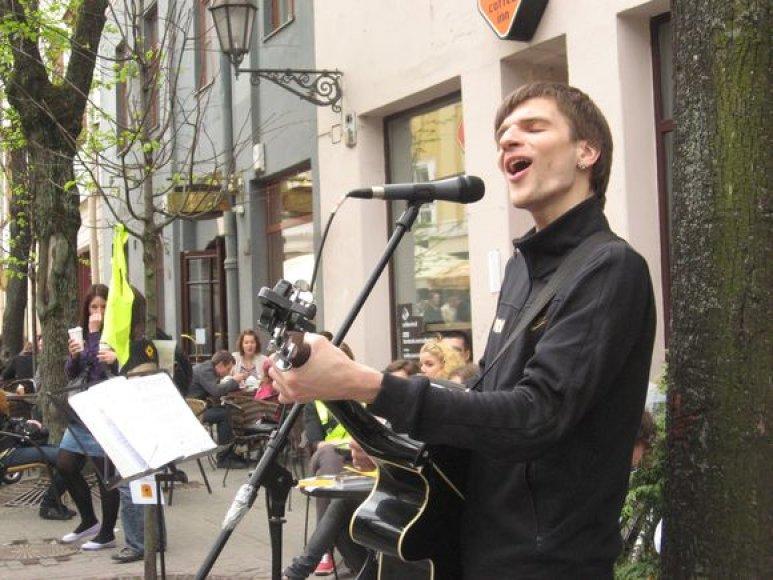 Akimirka iš renginio Vilniuje