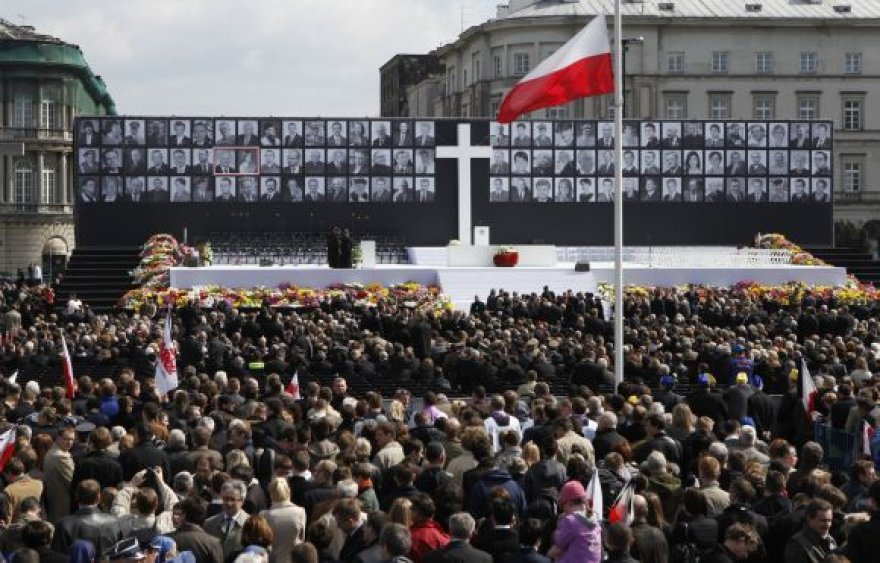 Gedulinga atsisveikinimo ceremonija Pilsudskio aikštėje