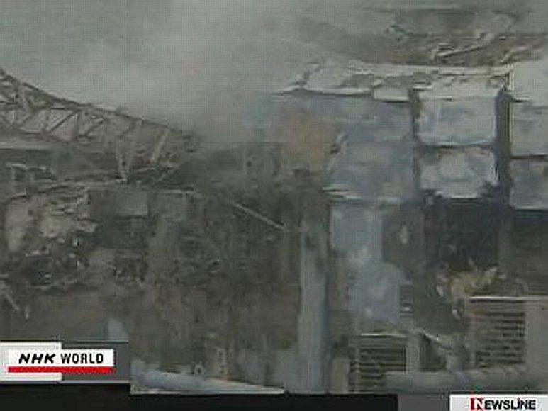 Ketvirtasis Fukušima -1 reaktorius po pakartotinio gaisro