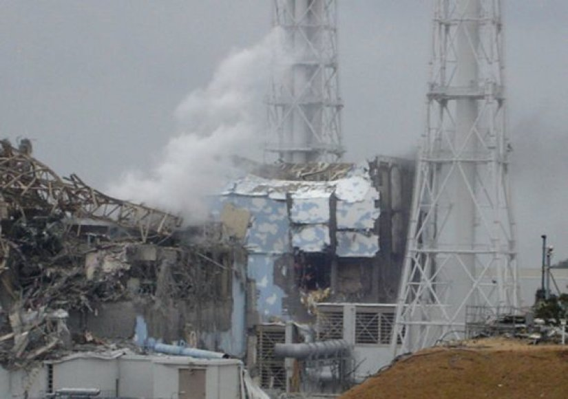 Fukušima-1 atominė elektrinė kovo 16 d.