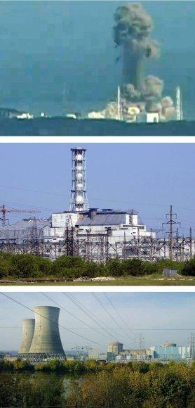 Trys didžiausios atominių elektrinių katastrofos