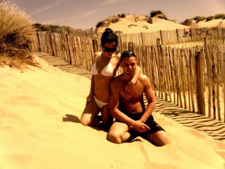 Bikini porelė: Sandra ir Tomas