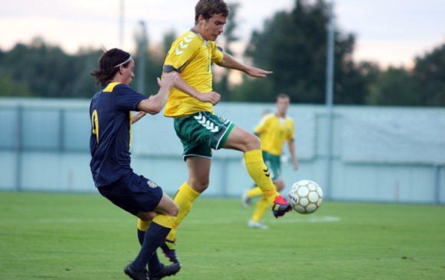 U-21: Lietuvos futbolo rinktinė pralaimėjo Švedijai