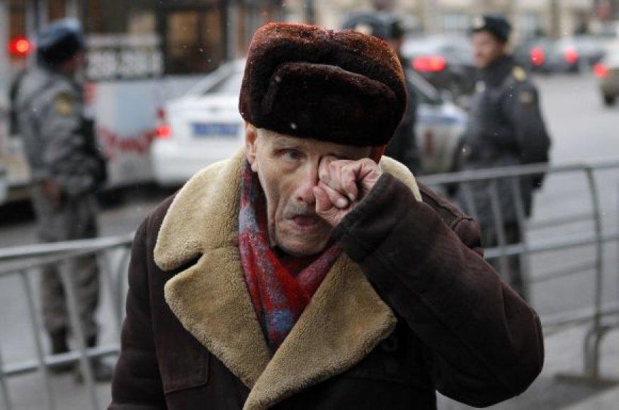 Maskva ruošiasi rekordiniam šeštadienio mitingui