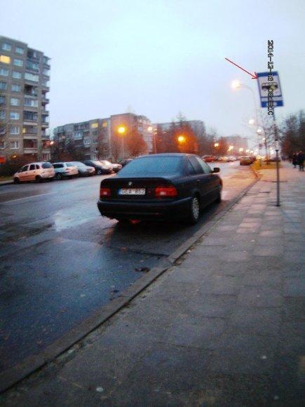 BMW stotelėje