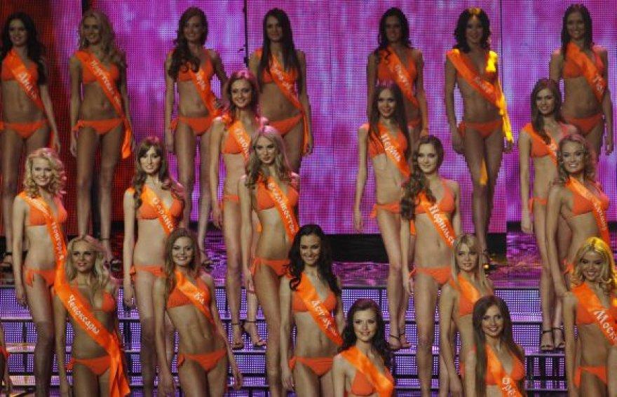 """""""Mis Rusija 2010"""" tapo Irina Antonenko"""