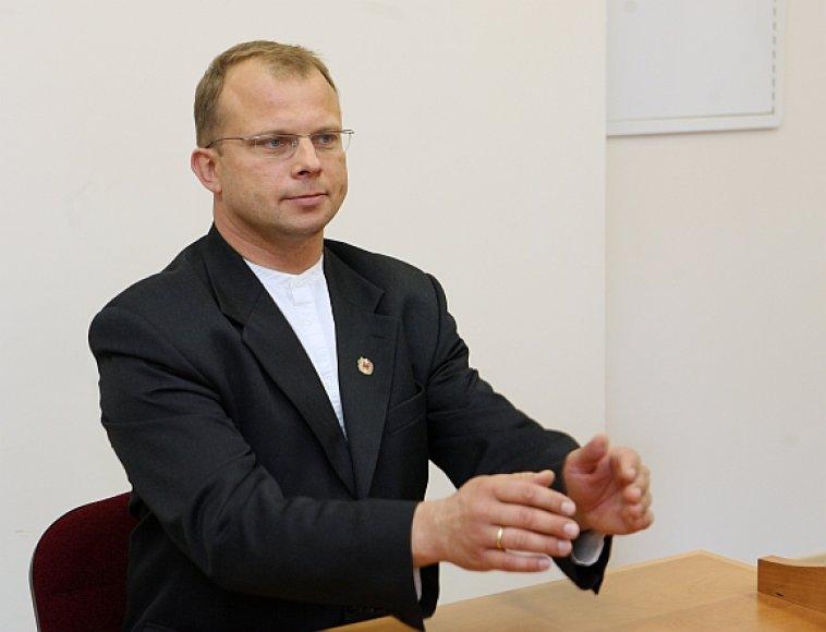 Egidijus Skarbalius tikisi, kad iš antro karto Žemaičių partiją pavyks įsteigti oficialiai.