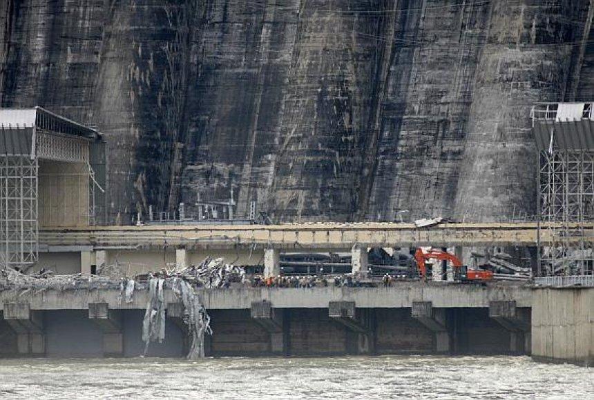 Sajanų-Šušensko hidroelektrinė po nelaimės