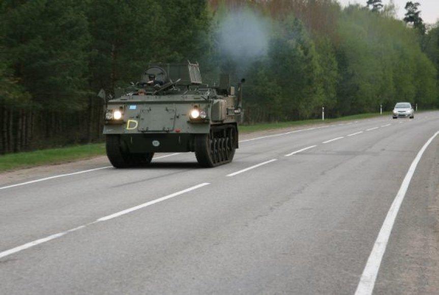 Jurbarko rajono keliuose ir šalikelėse galima sutikti tokią transporto priemonę.